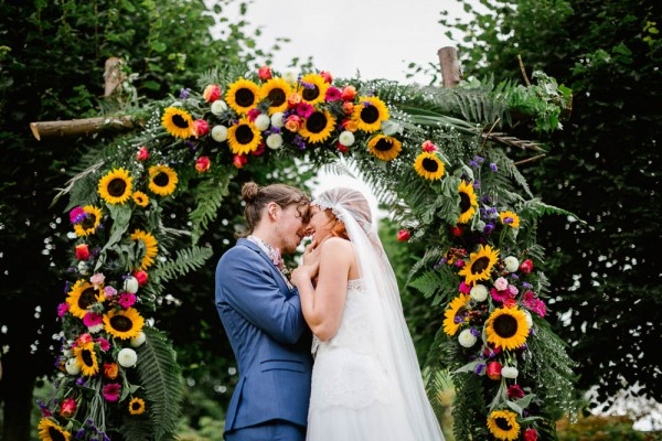sunflower wedding