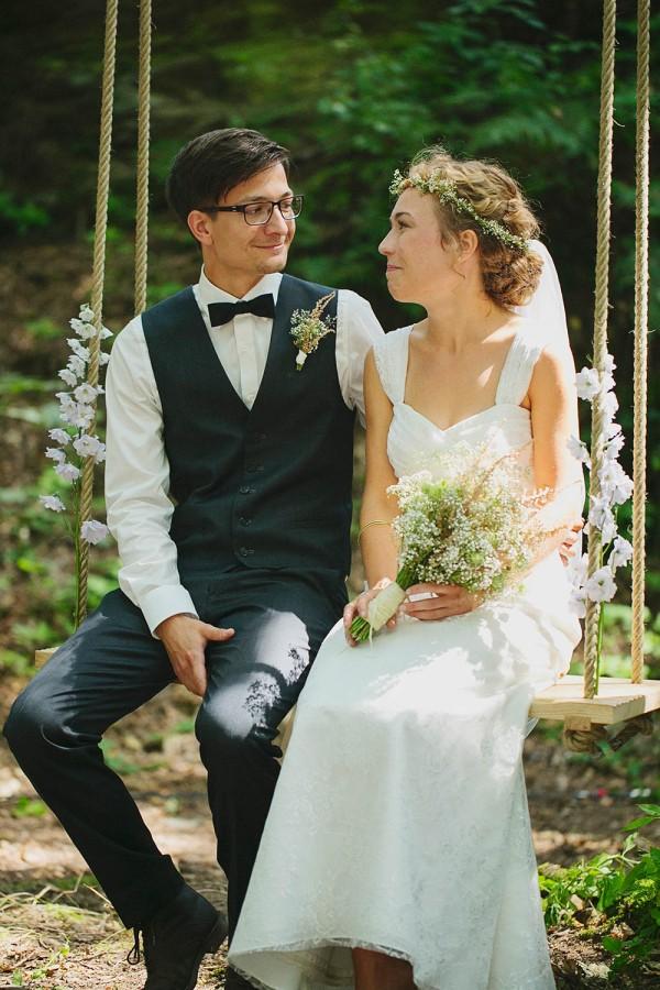 Sweet and Handmade German Wedding Junebug Weddings
