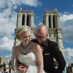 Intimate Vow Renewal in Paris