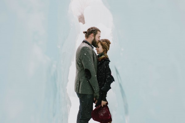 Snowy-Couple-Session-Ice-Castles-New-Hampshire-Darling-Photography (10 of 20)