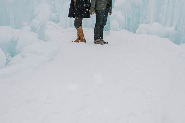 Snowy-Couple-Session-Ice-Castles-New-Hampshire-Darling-Photography (14 of 20)