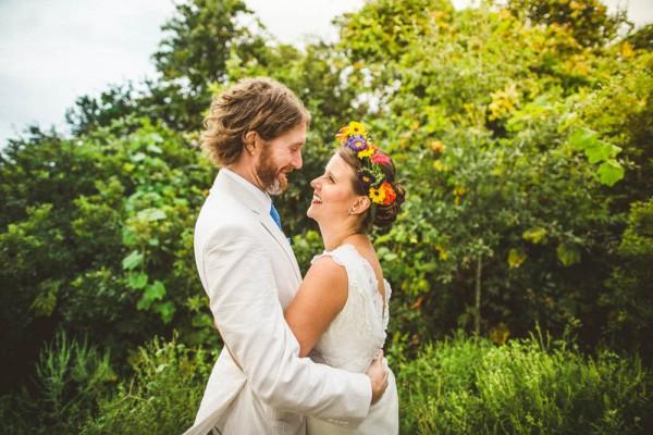 Sunset Beach Wedding In North Carolina Junebug Weddings