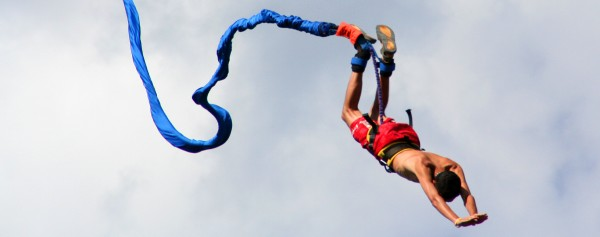 Tinggly experiences - bungee jump in Cape Town