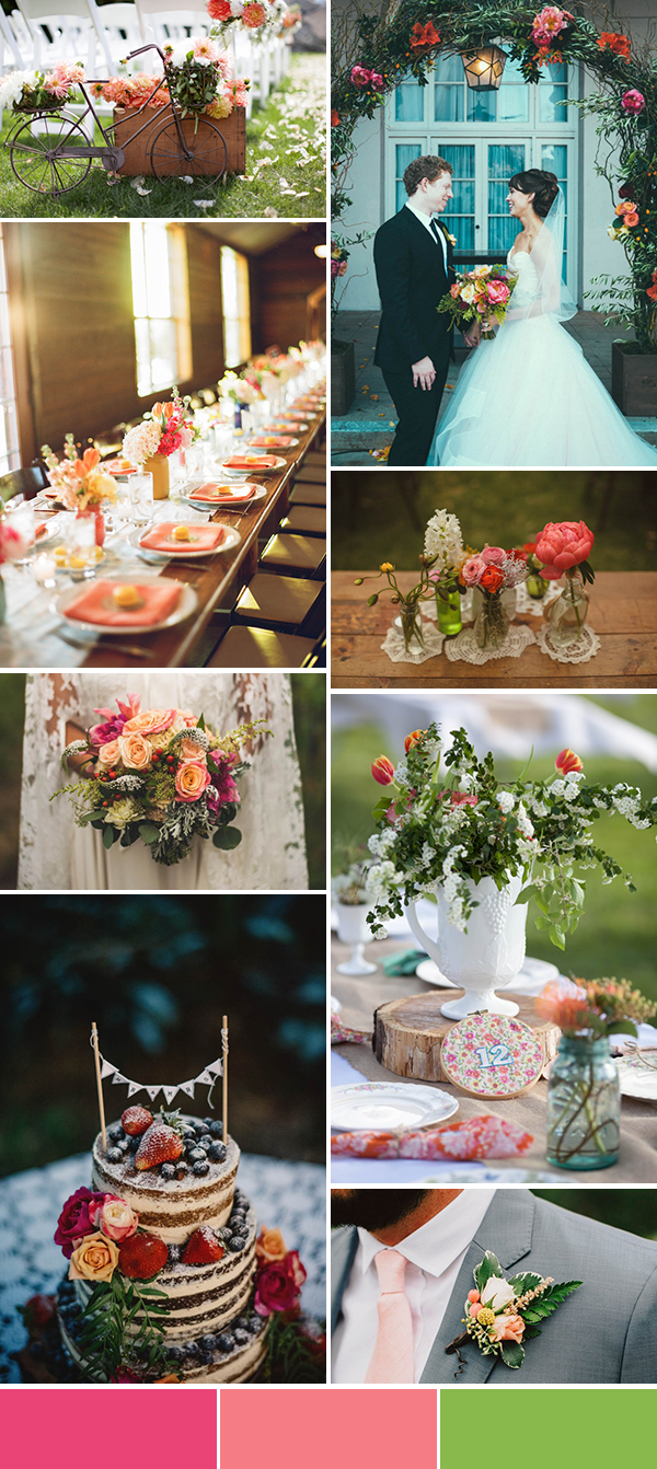5 Spring Wedding Color Palette Ideas | Junebug Weddings
