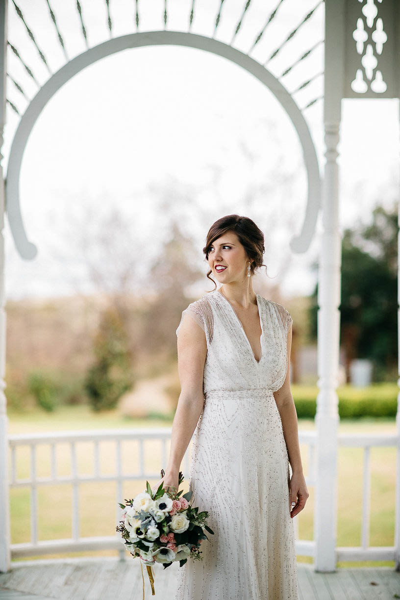 Great Gatsby Style Wedding at the Barr Mansion   Junebug Weddings