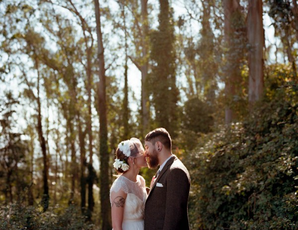 Hipster Wedding Photography: California Hipster Wedding At Sunnyside Conservatory