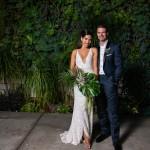 Edgy Urban Wedding at The Smog Shoppe