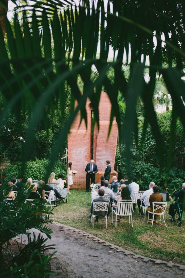 Intimate Wedding At Ann Norton Sculpture Gardens Junebug