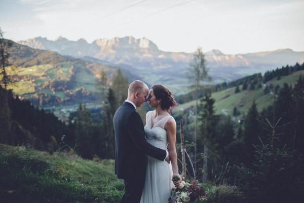 Romantic Austrian Wedding in the Wilder Kaiser | Junebug ...