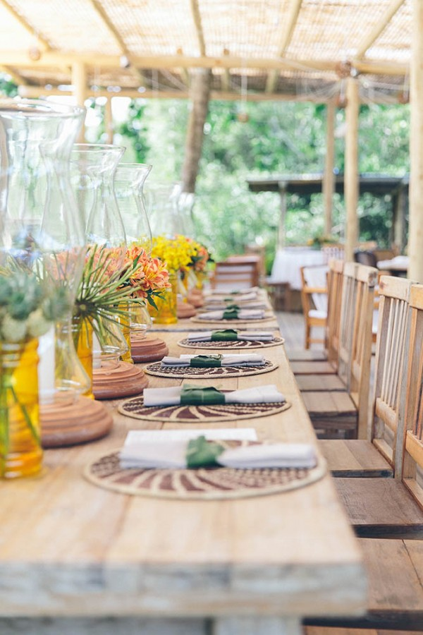 Romantic Tropical Wedding In Brazil Junebug Weddings