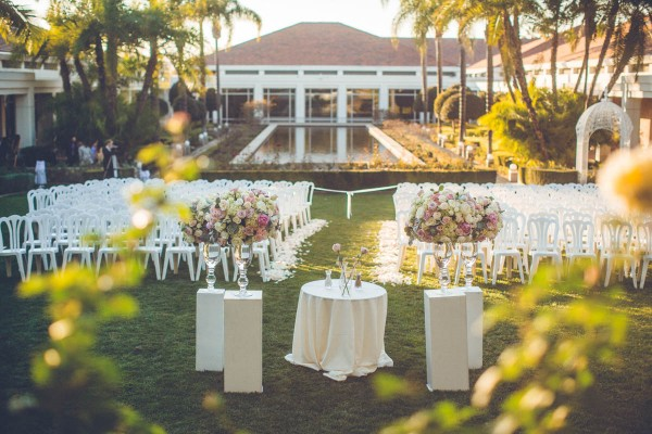 Sage Blush Wedding Richard Nixon Library Splendor And