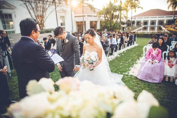 Sage Blush Wedding Richard Nixon Library Splendor And