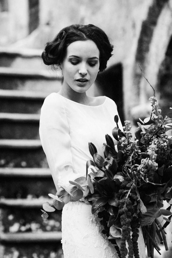 vintage italian film inspired bridal shoot junebug weddings. Black Bedroom Furniture Sets. Home Design Ideas