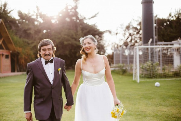 1940s Inspired Wedding At The Casa Club 11 Of