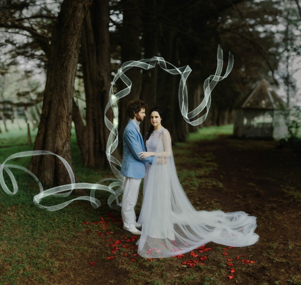 New south whales au wedding wedding blog posts archives junebug surrounded by dark natural greenery wood elements and vintage mismatched flatware their wedding at the summerlees estate in new south wales australia junglespirit Choice Image