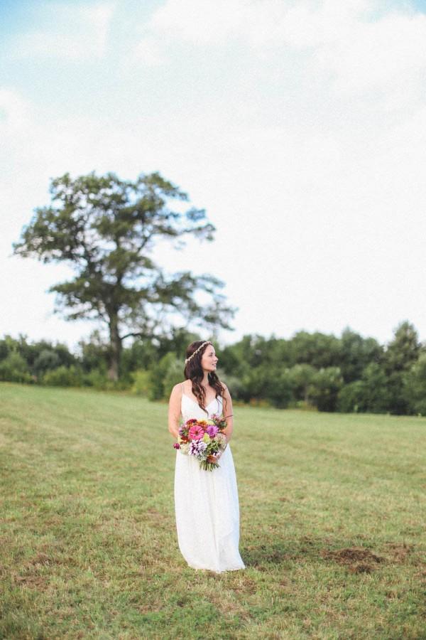 casual backyard wedding in massachusetts junebug weddings