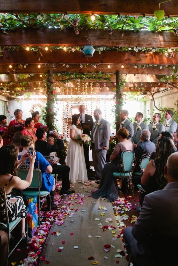 Eclectic Brooklyn Wedding At Acqua Santa