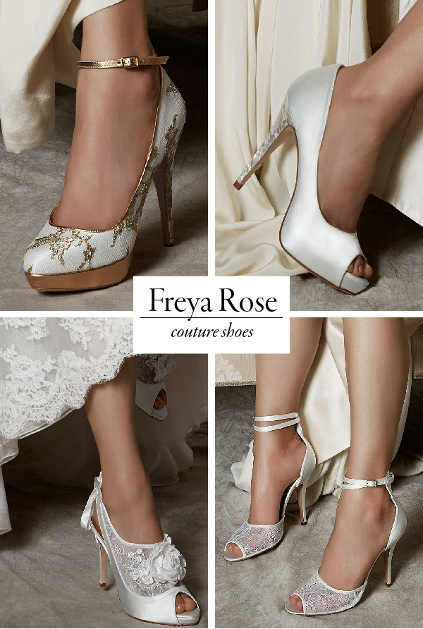 Couture Wedding Shoes And Accessories From Freya Rose