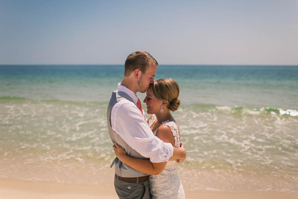 rustic beach wedding in gulf shores
