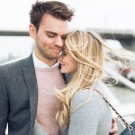Adorable Pastel London Engagement Shoot