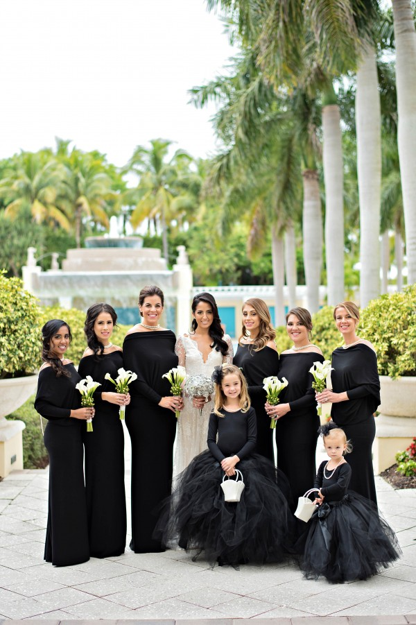 Black and White Wedding at Hyatt Regency Coconut Point ...