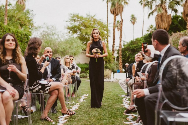Black And White Wedding At Riviera Palm Springs