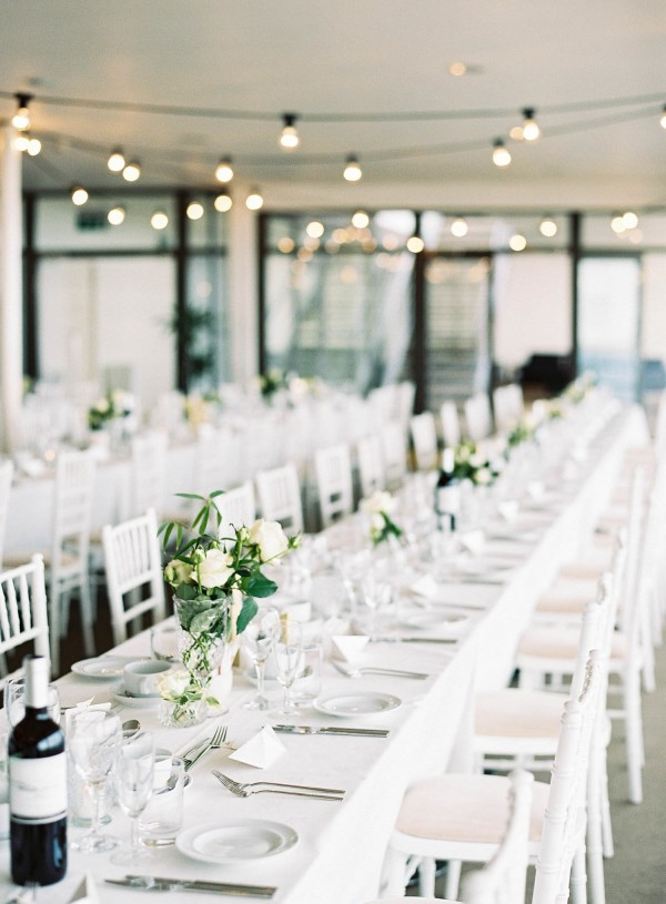 Gold And White Wedding At De La Warr Pavilion Junebug