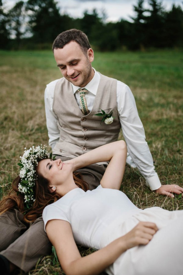 Pink And Green Lithuanian Wedding
