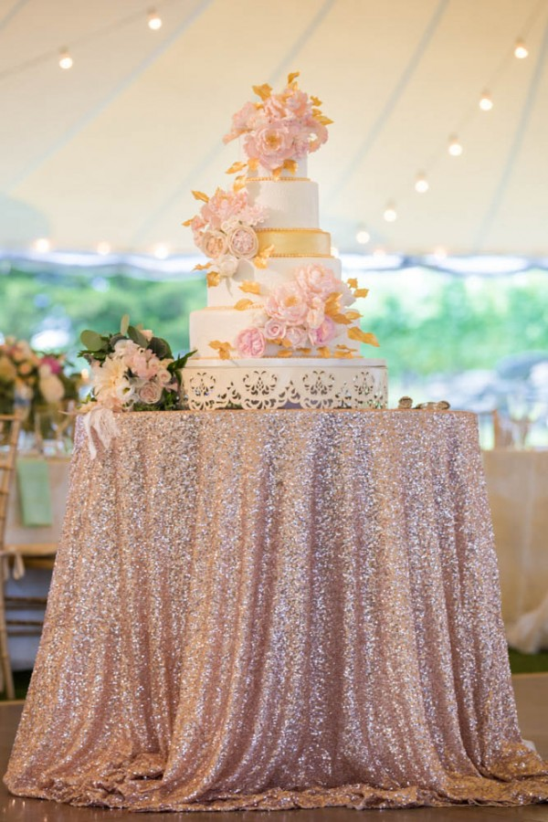 Blush And Gold Wedding At Jonathan Edwards Winery