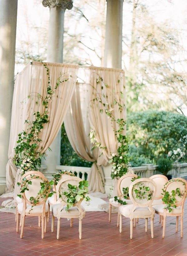 Ivy And Floral Wedding Inspiration At Hycroft Manor