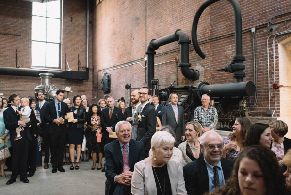 Natural Wedding At Charles River Museum Of Industry