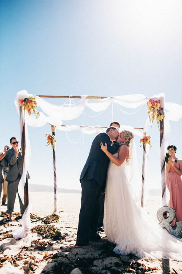 Wedding Photography Carmel: Oceanside Wedding At Stewart's Cove In Carmel