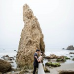 Malibu Post-Wedding Shoot on the Beach at Sunrise