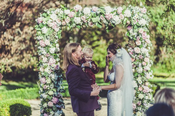 Utterly Glamorous French Garden Wedding Claire Penn Photography