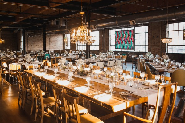 Chicago Wedding Blog: Vintage Chicago Wedding At Salvage One