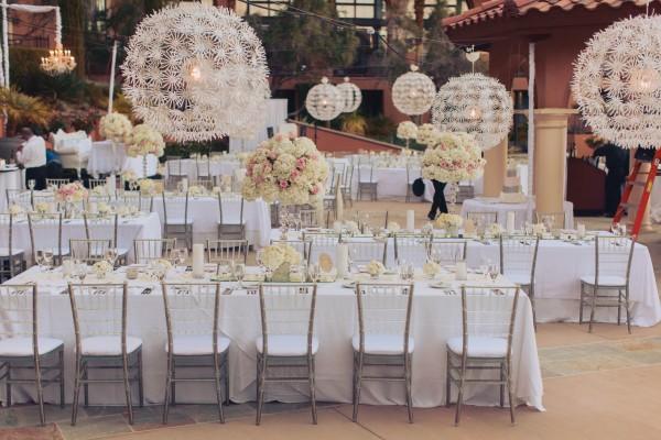 White and Ivory Wedding at The Westin Lake Las Vegas | Junebug ...