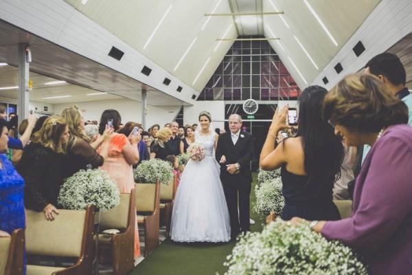 Vw Bus 2015 >> Brazilian Wedding at Igreja Batista da Praia do Canto ...