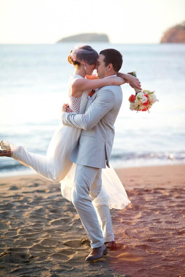 Classic Costa Rican Wedding At Pacifico Beach Club