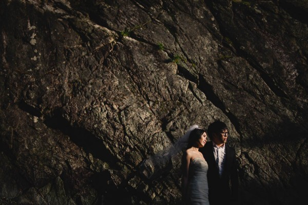 Daring Pre Wedding Shoot At Whytecliff Park Junebug Weddings