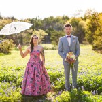 Eclectic Hill Country Wedding at The Wildflower Barn