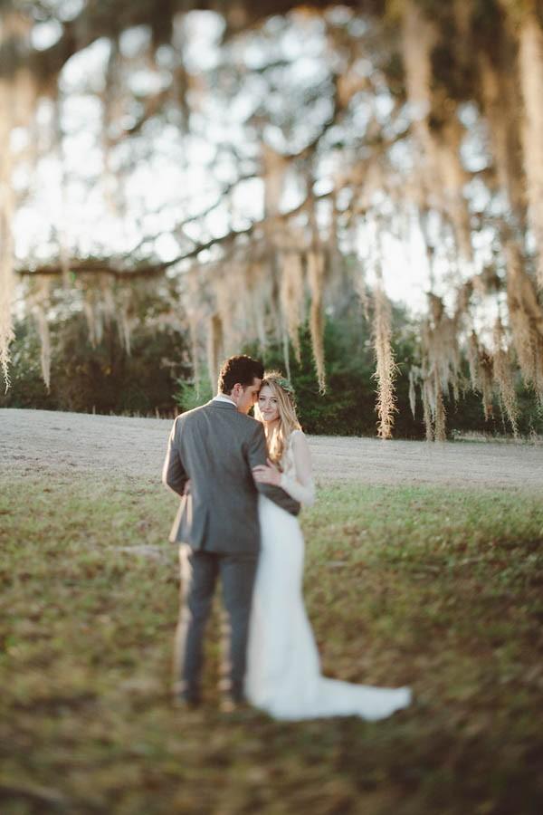 Organic Autumn Tallahassee Wedding