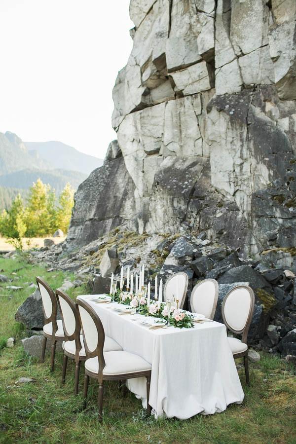 Columbia Gorge Wedding Inspiration Angela Shae 6 Of