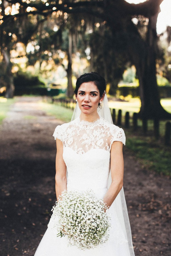 Vintage New Orleans Wedding at Audubon Park | Junebug Weddings