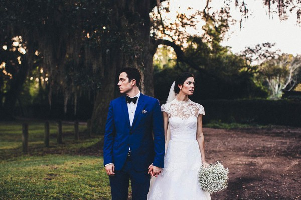 Vintage New Orleans Wedding At Audubon Park