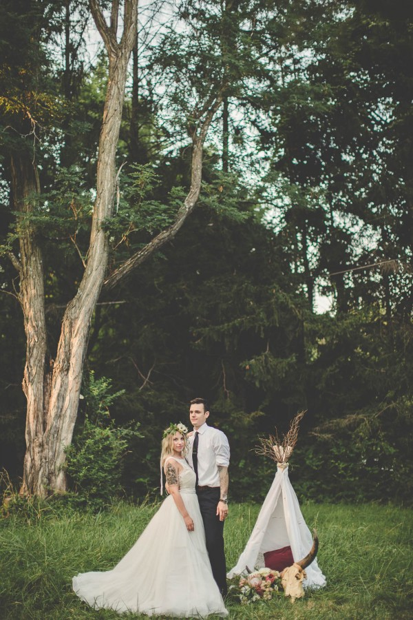 Romantic Alternative Boho Wedding Inspiration Junebug Weddings