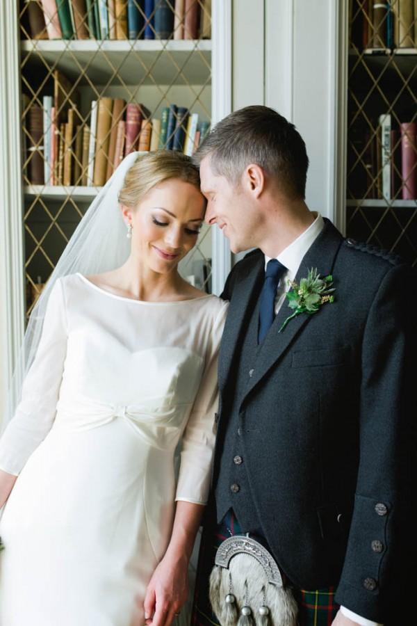 Classic Scottish Wedding at The Signet Library | Junebug Weddings