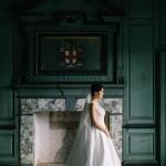 Elegant Southern Bridal Portraits at Drayton Hall