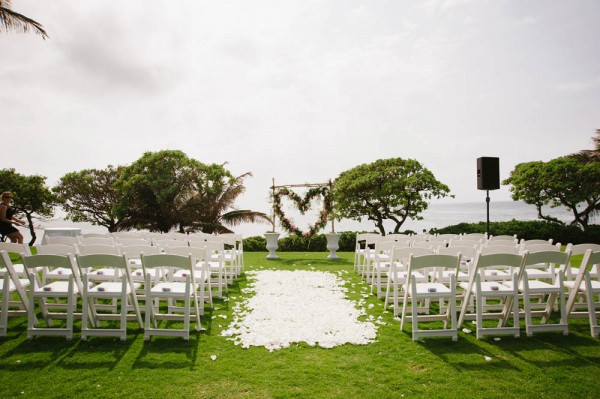Hawaiian Destination Wedding At Turtle Bay Resort Derek