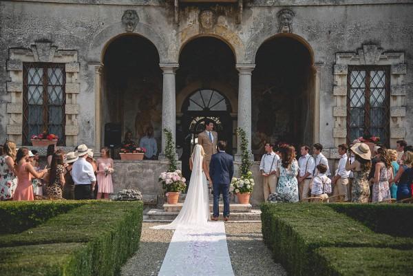 The Italian Villa Gallery Multi Award Winning Wedding: Italian Garden Wedding At Villa Zambonina