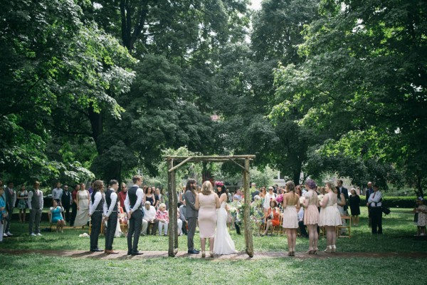 Lexington ky park wedding